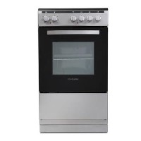 Montpellier MSE50S 50cm Single Cavity Electric Cooker - Silver
