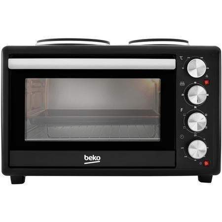 Beko MSH28B 28L Mini Oven with Twin Hobs - Black