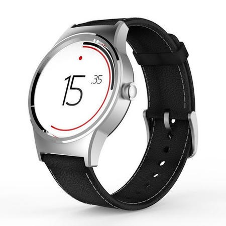 TCL Movetime MT10 Wifi Watch  Silver/Black