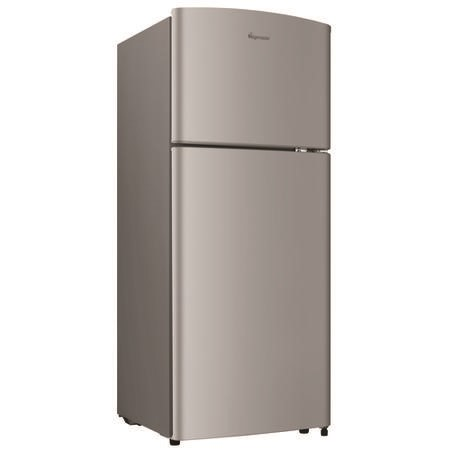 Fridgemaster MTM48120S 118x55cm A-Plus Rated Top Mount Fridge Freezer - Silver