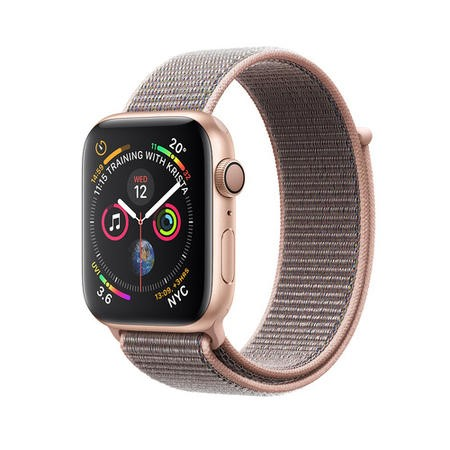 Apple Watch Series 4 GPS + Cellular 40mm Gold Aluminium Case with Pink Sand Sport Loop