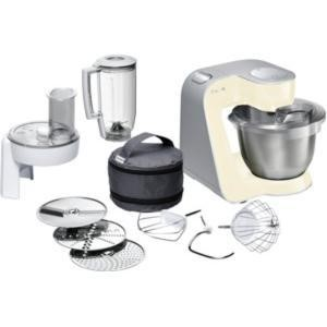 Bosch MUM54920GB 900W Kitchen Machine Vanilla And Silver