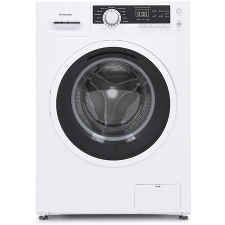 Montpellier MW8140P 8kg 1400rpm Freestanding Washing Machine - White