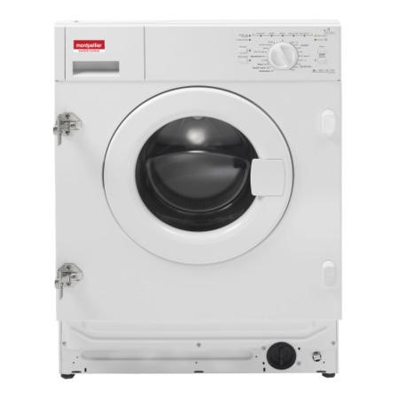 Montpellier MWBI6012 6kg 1200rpm Integrated Washing Machine