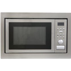 Montpellier MWBI90025 900W 25L Built-In Microwave Oven With Grill Stainless Steel