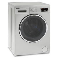 Montpellier MWD7512S 7kg Wash 5kg Dry 1200rpm Freestanding Washer Dryer-Silver