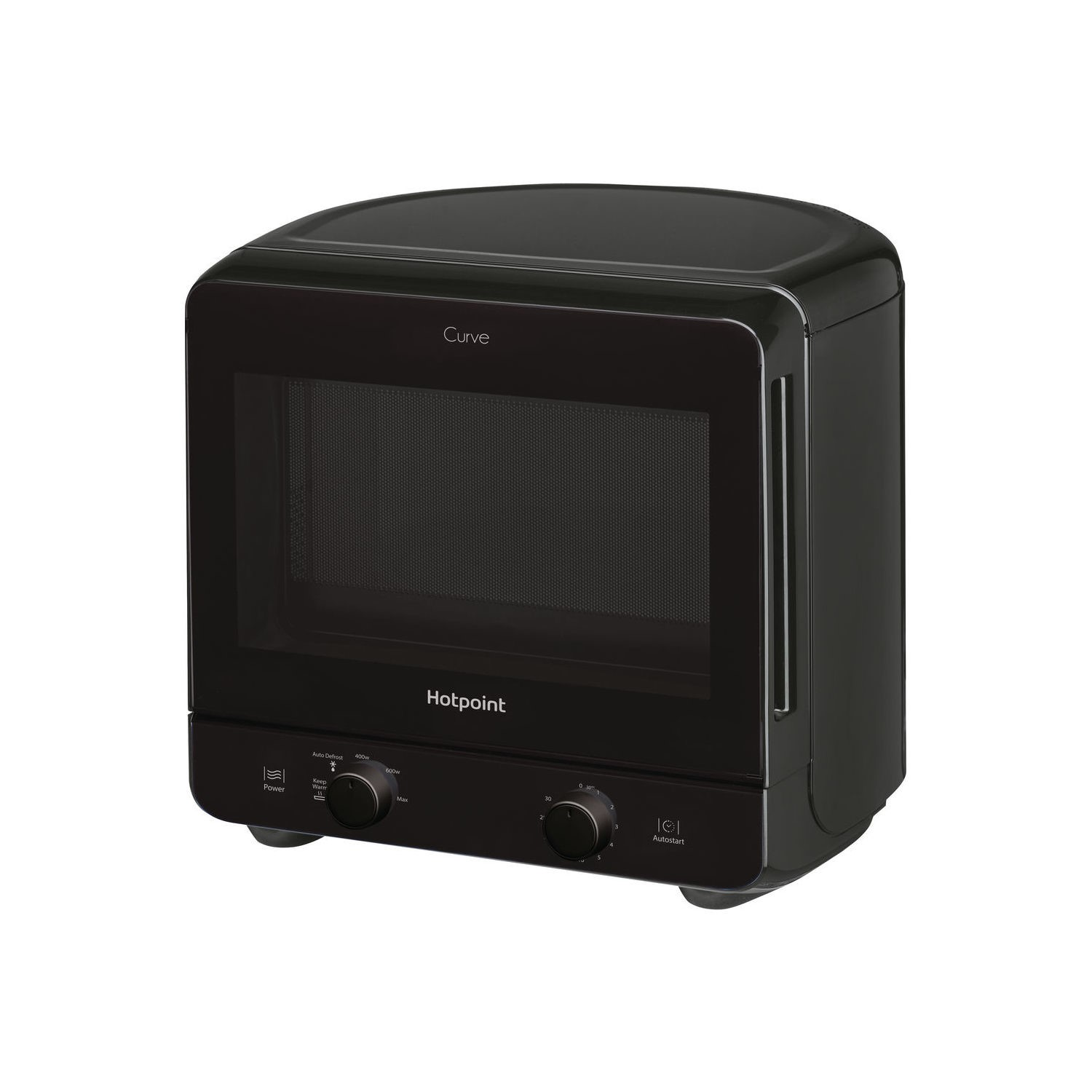 hotpoint mwh1311b 13l 700w freestanding curve microwave. Black Bedroom Furniture Sets. Home Design Ideas
