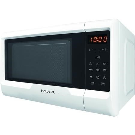 hotpoint mwh2031mw0 20l 700w freestanding microwave in. Black Bedroom Furniture Sets. Home Design Ideas