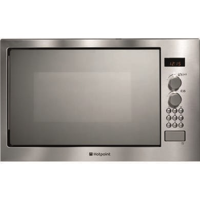 Hotpoint MWH222I 24 L Built In Microwave with Grill in Stainless Steel