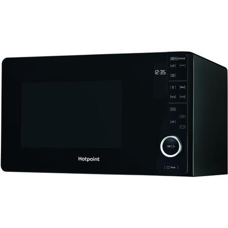 Hotpoint MWH2622MB Xtraspace Flatbed 25L Microwave Oven With Grill - Black