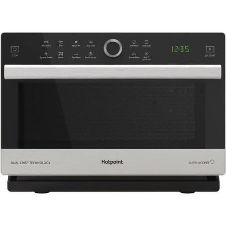 Hotpoint Supreme Chef MWH338SX 900W 33L Combination Freestanding Microwave Oven - Stainless Steel