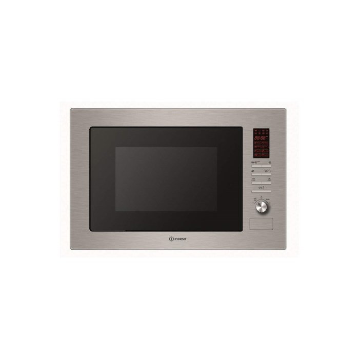Indesit MWI2221X 24 L Built-in Microwave Oven With Grill Stainless ...