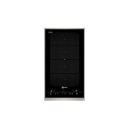 Neff N54D30N2 30cm Wide Domino Touch Control Two Zone Induction Hob - Black