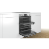 Bosch NBS113BR0B Serie 2 Multifunction Electric Built Under Double Oven - Stainless Steel