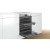 Bosch NBS533BS0B Serie 4 Multifunction Electric Built Under Double Oven - Stainless Steel
