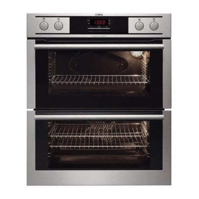 NC4013021M AEG NC4013021M Competence Electric Built-under Double Oven Stainless Steel