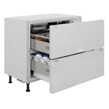 Hotpoint Ncd191i 90cm Wide Integrated Fridge Drawers