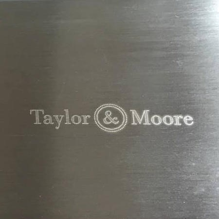 Taylor & Moore Ness 1.5 Bowl with Drainer Reversible Stainless Steel Sink