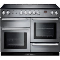 Rangemaster NEX110EISS/C 106160 Nexus 110cm Electric Range Cooker With Induction Hob Stainless Steel
