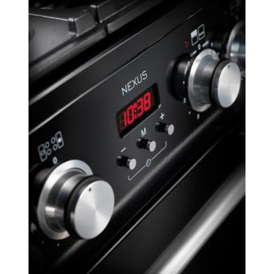 Rangemaster NEX110EISL/C 106150 Nexus 110cm Electric Range Cooker With Induction Hob Slate Chrome