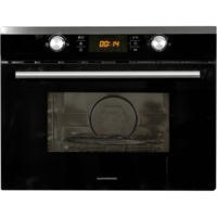 NordMende NM451IX Black And Stainless Steel 45cm Compact Height Full Combi Microwave And Convection