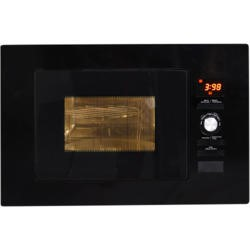 NordMende NM823BBL Gloss Black 800W 20L Built in Combination Microwave Oven With Kit