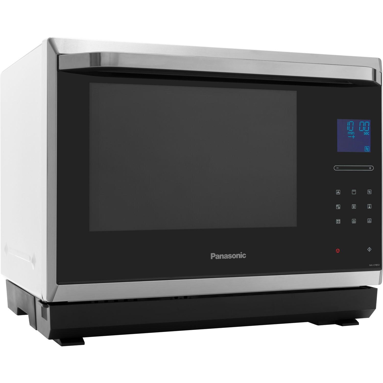 Panasonic NN-CF853WBPQ 32L 1000W Freestanding Combination Microwave Oven -  White