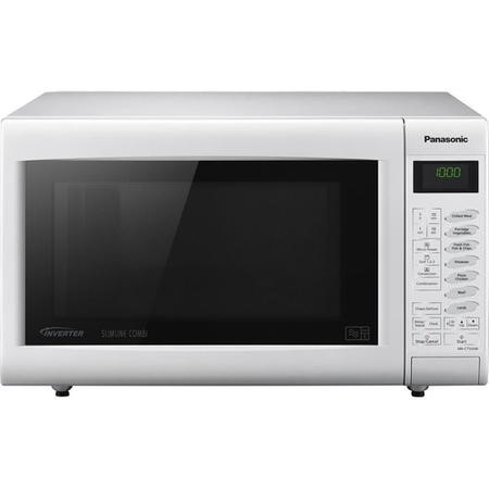 Panasonic NN-CT555WBPQ 27L 1000W Freestanding Combination Microwave in White
