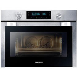 Samsung NQ50C7535DS Single Built in Electric Single Oven Stainless Steel With Microwave And Steam Cleaning