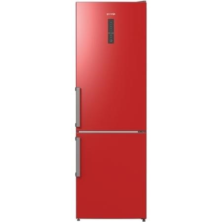 Gorenje NRK6192MRDUK Colour edition Frost Free Freestanding Fridge Freezer - 185cm - Fiery Red