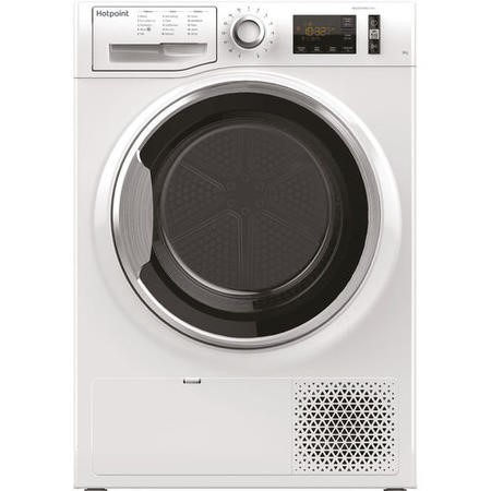 Hotpoint NTM1182XB 8kg Freestanding Condenser Tumble Dryer With Heat Pump Tech - White