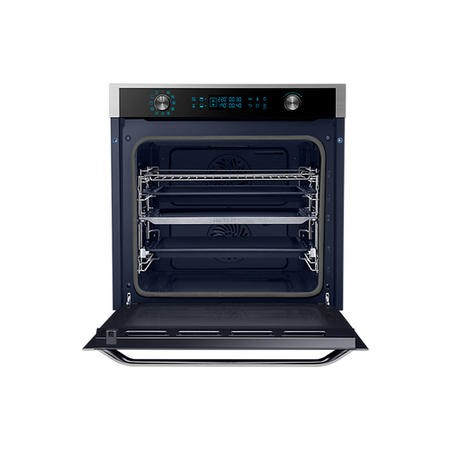GRADE A2 - Samsung NV75J7570RS 75L Dual Cook Pyro Electric Single Oven - Stainless Steel