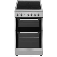 New World NWTOP52CS 50cm Silver Electric Twin Cavity Ceramic Cooker Best Price, Cheapest Prices