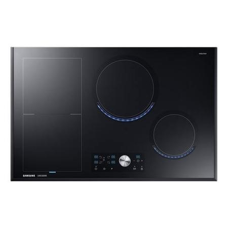 Samsung NZ84J9770EK 80cm Four Zone Chef Collection Induction Hob with Virtual Flame Technology