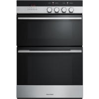 Fisher & Paykel OB60B77CEX3 89425 Classic Multifunction Electric Built-in Double Oven Brushed Stainl