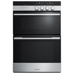 Fisher & Paykel OB60BCEX4 89424 Multifunction Electric Built-in Double Oven - Brushed Stainless Stee