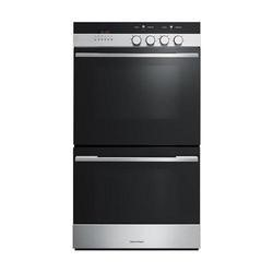 Fisher & Paykel OB60DDEX4 89426 Tower Multifunction Built In Electric Double Oven - Brushed Stainles