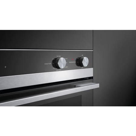Fisher & Paykel OB60SC7CEX1 85425 Seven Function 77L Electric Built-in Single Oven Stainless Steel