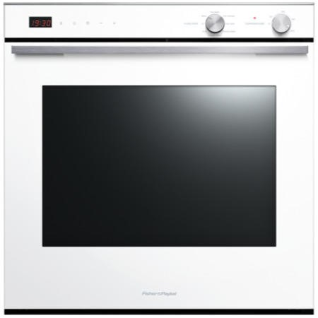 Fisher & Paykel OB60SL7DEW1 80927 Seven Function 77L Electric Built-in Single Oven White