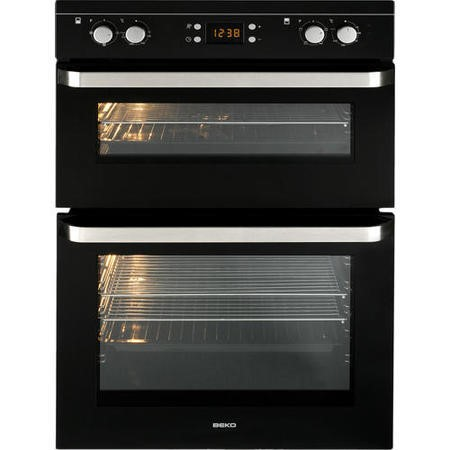 Beko Odf21300b Fanned Electric Built In Double Oven
