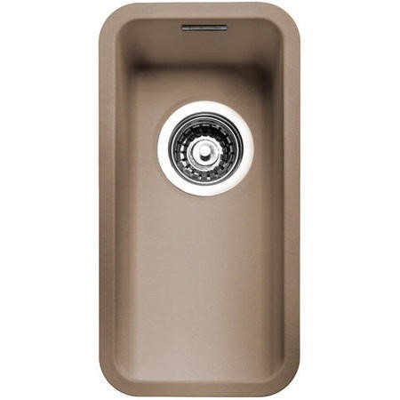 Reginox OHIO18X40CS Regi Color Ohio 0.5 Bowl Sand Stainless Steel Undermount Kitchen Sink