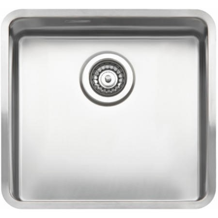 Reginox OHIO40X40-L 1.0 Bowl Integrated Stainless Steel Sink
