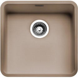 Reginox OHIO40X40CS Regi Color Ohio 1.0 Bowl Sand Stainless Steel Kitchen Sink