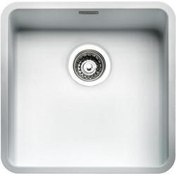 Reginox OHIO40X40CW Regi Color Ohio 1.0 Bowl White Stainless Steel Kitchen Sink