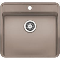 Reginox OHIO50X40TAPWINGCS Regi Color Ohio Tapwing Sand Stainless Steel Kitchen Sink