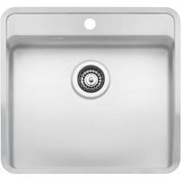 Reginox OHIO50X40TAPWINGCW Regi Color Ohio Tapwing White Stainless Steel Kitchen Sink