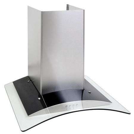 Amica OKP6321G 60cm Chimney Hood - Stainless Steel