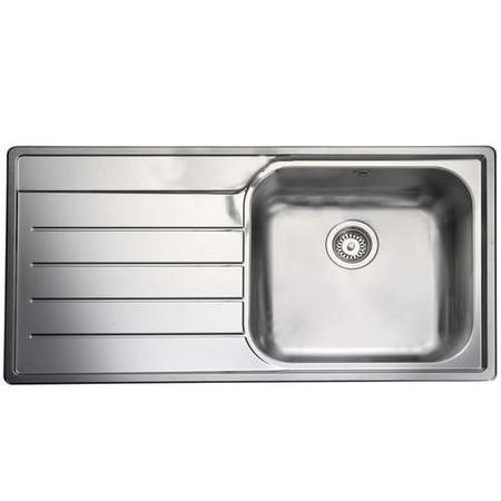 Rangemaster OL9851L Oakland 985x508 1.0 Bowl LHD Stainless Steel Sink