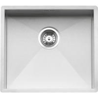 Reginox ONTARIO-50X40 Large Square 1.0 Bowl Undermount Stainless Steel Sink