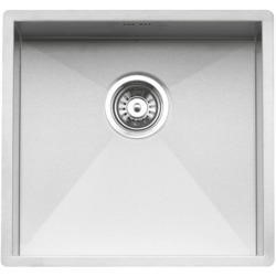 Reginox ONTARIO45X40 Large Square 1.0 Bowl Undermount Stainless Steel Sink